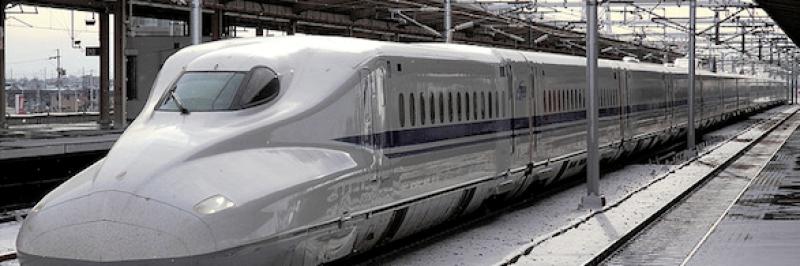 tokaido shinkansen bullet train