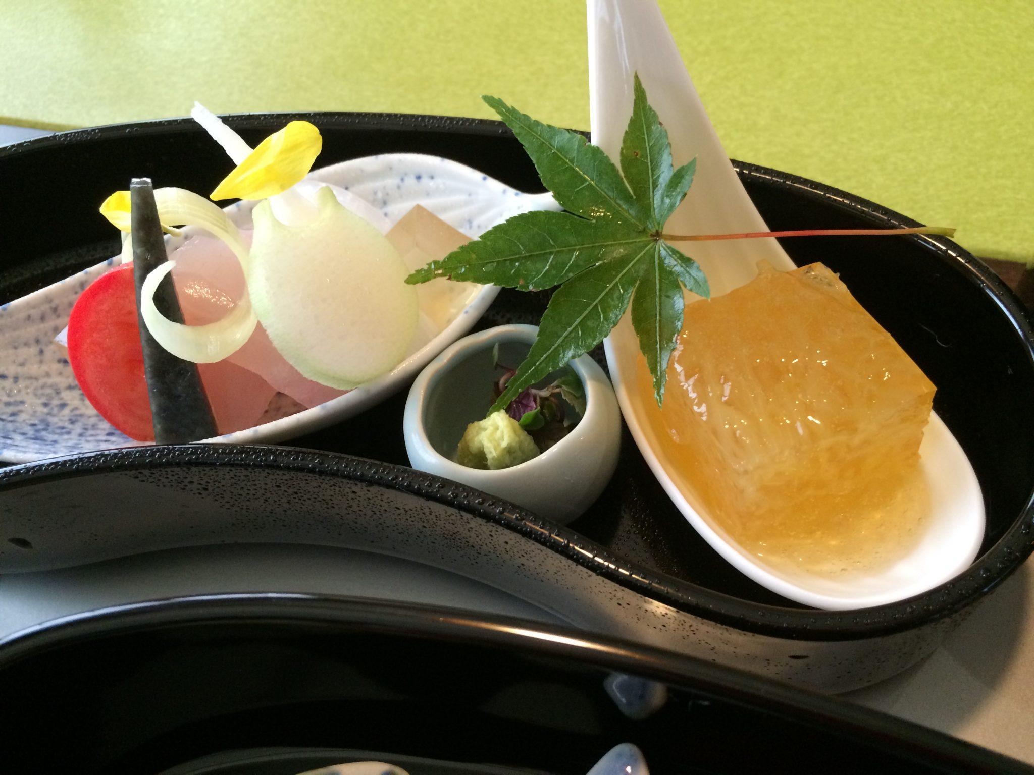 Sashima at Shirotari restaurant