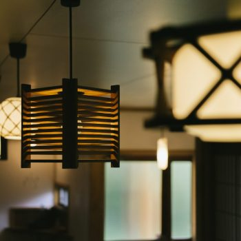 Lights at The Cafe Retreat wabi-sabi