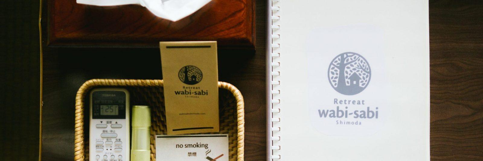 Retreat wabi-sabi guestroom supplies