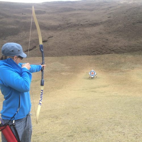 Archery at Mt Omuro Izu
