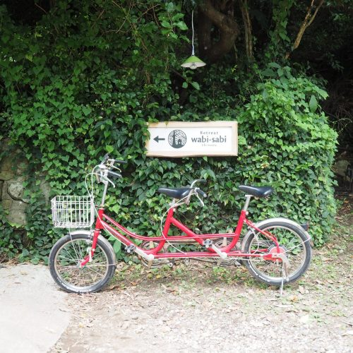 Rent a tandem bike at Retreat wabi-sabi, Shimoda