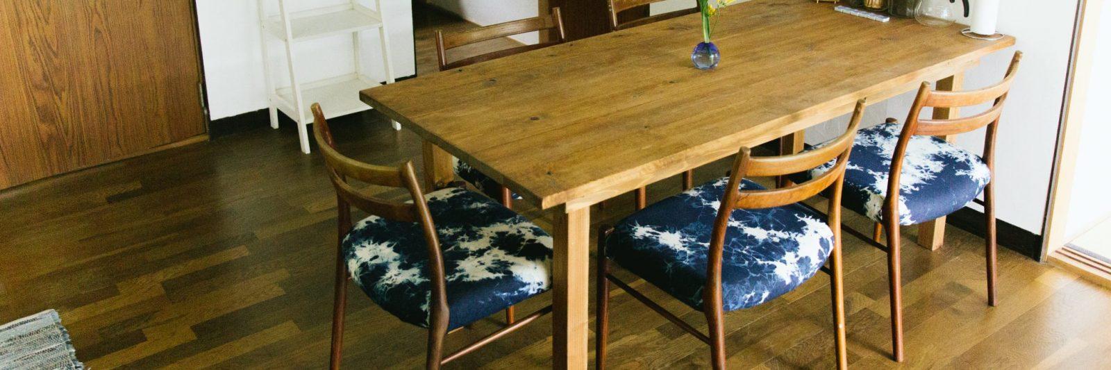 Dining table at Coya Cottage Shimoda