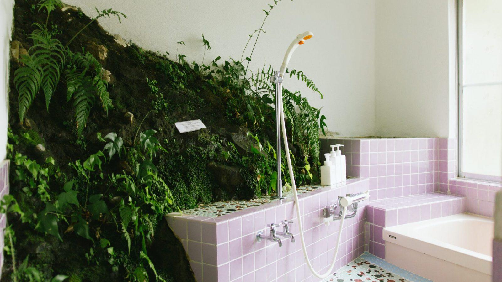 Shower room at Retreat wabi-sabi