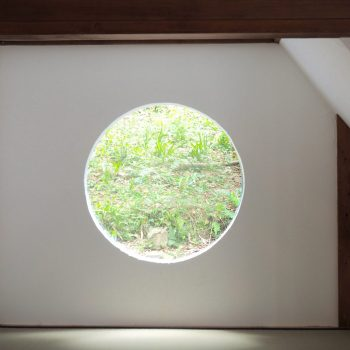 Oku Cottage window