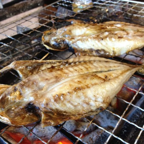 Grilled himono